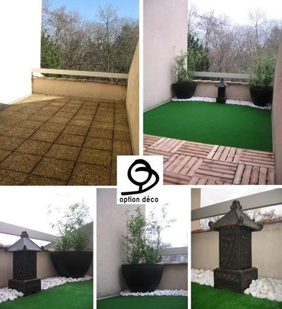 Idee d co terrasse zen for Deco exterieur design