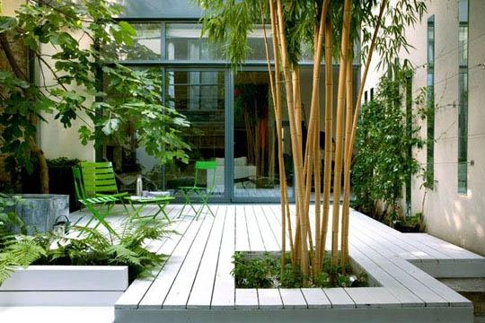organisation idee déco terrasse zen - Photo Déco