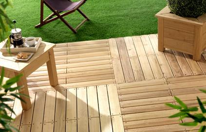 Jolie idee déco terrasse zen - Photo Déco