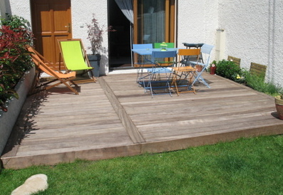 Idee d coration terrasse bois - Idee deco terrasse pas cher ...
