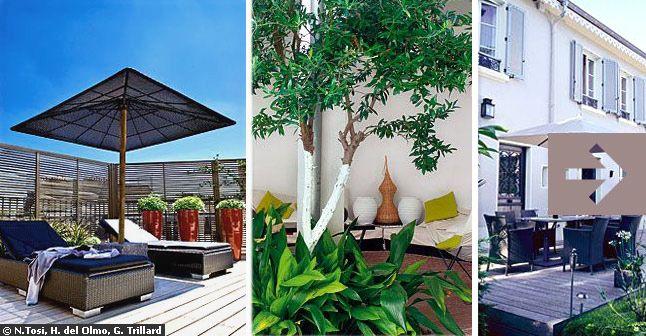 belle idee décoration terrasse maison