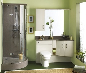 Photo idee deco salle de bain petit espace