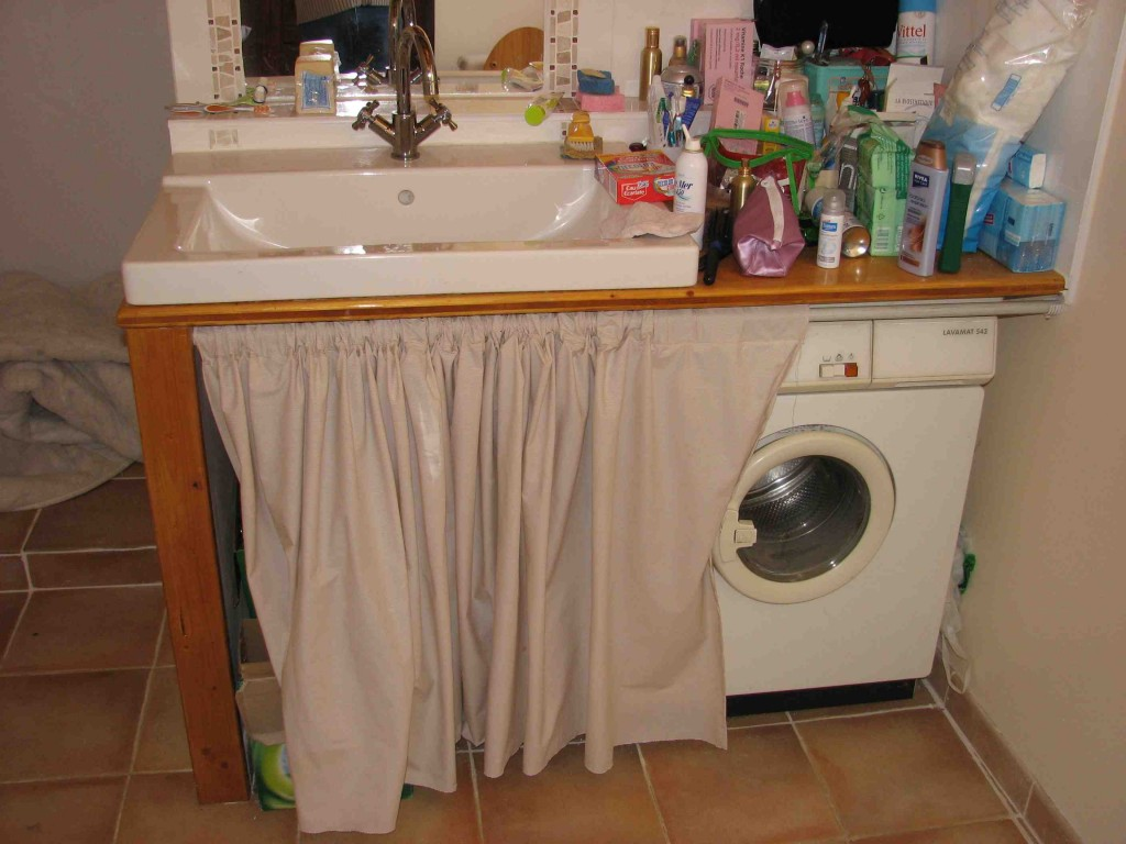 Photo idee meuble salle de bain a faire soi meme