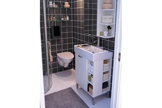 organisation idee salle de bain 3 m2 - Photo Déco