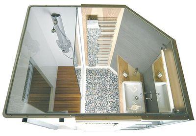 m6 deco salle de bain zen. Black Bedroom Furniture Sets. Home Design Ideas