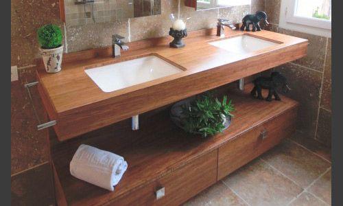 meuble salle de bain zen bois for salle de bain bois zen