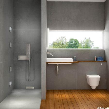 Petite salle de bain l 39 italienne for Salle de bains a l italienne