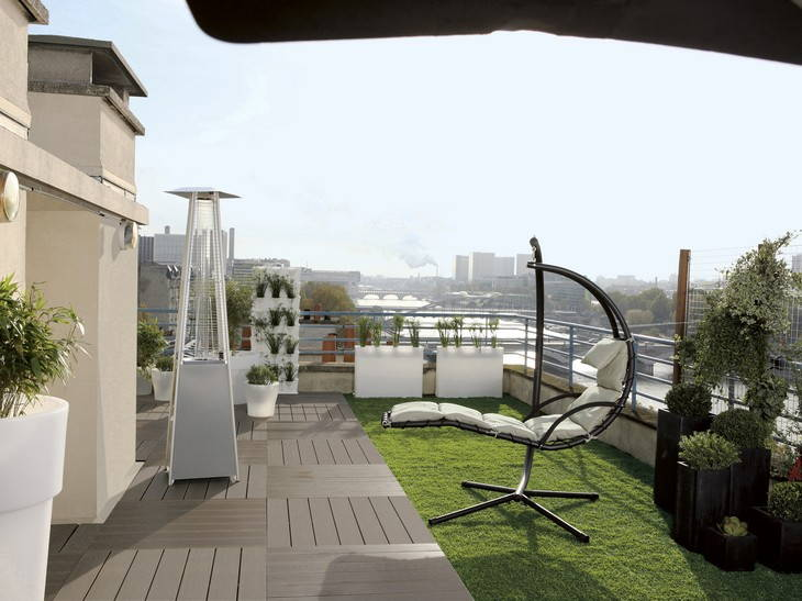 Photo d co terrasse balcon - Deco balcon terrasse ...