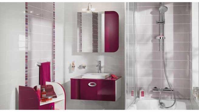 Salle de bain l 39 italienne lapeyre for Lapeyre faience salle de bain