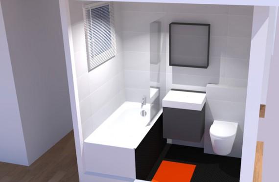 Salle de bain 3 m2 for Salle de bain 3m2 avec douche