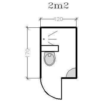 salle de bain 3m2 baignoire. Black Bedroom Furniture Sets. Home Design Ideas