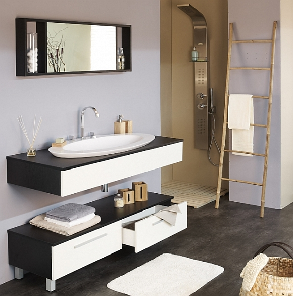 salle de bain a faire soi meme. Black Bedroom Furniture Sets. Home Design Ideas