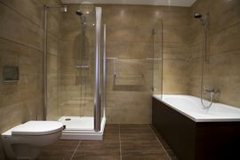 modèle salle de bain a l italienne - Salle De Bain A L Italienne Photo