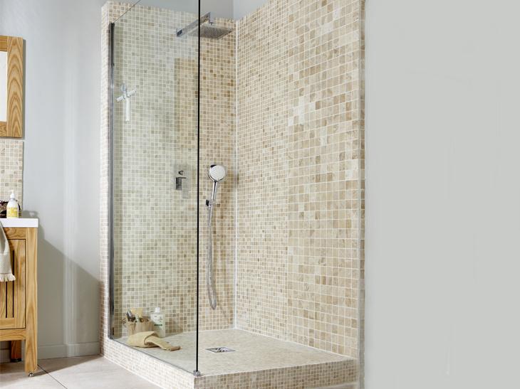 Salle de bain a l italienne photo for Salle de bains a l italienne