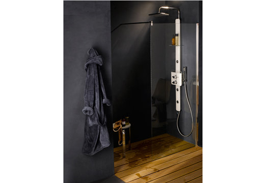 salle de bain a l 39 italienne castorama. Black Bedroom Furniture Sets. Home Design Ideas