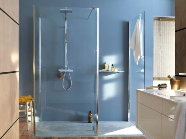 Salle de bain a l 39 italienne castorama for Amenagement salle de bain italienne