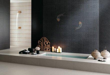 salle de bain carrelage. Black Bedroom Furniture Sets. Home Design Ideas