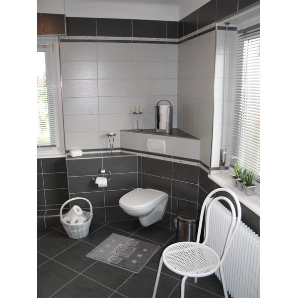 exemple salle de bain carrelage mural - Photo Déco
