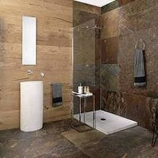 Photo salle de bain carrelage mural