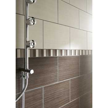 Carrelage sale de bain design for Salle de bain leroy merlin gris