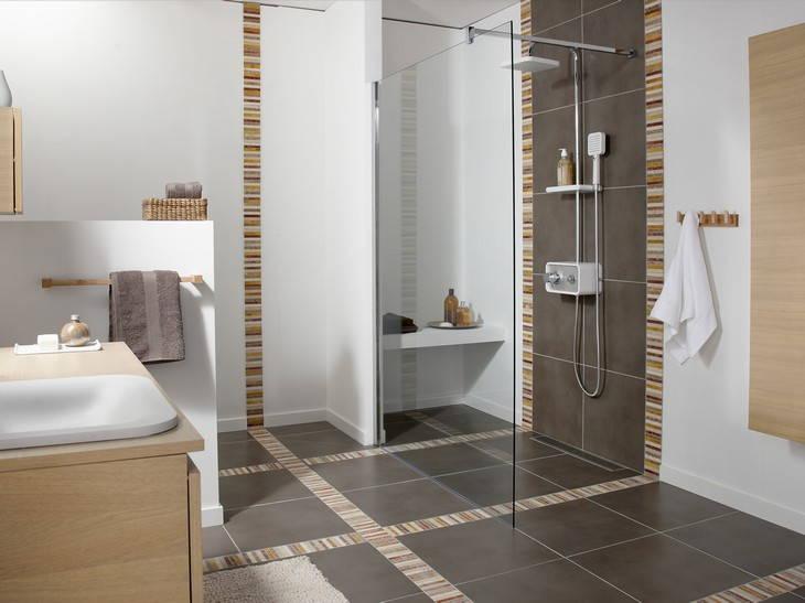 Salle de bain leroy merlin carrelage for Commode salle de bain leroy merlin