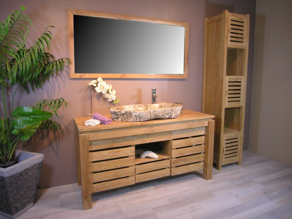 salle de bain zen bois. Black Bedroom Furniture Sets. Home Design Ideas