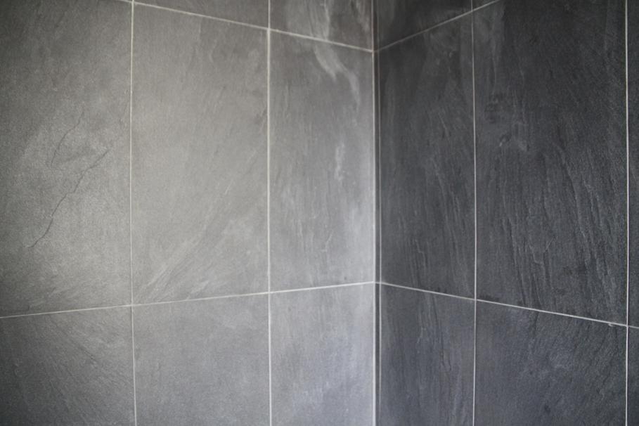 modèle salle de bains carrelage gris - Faience Grise Salle De Bain