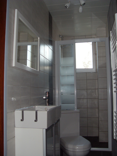 Salle de bains de moins de 2 m2 for Salle de bain 7 5 m2