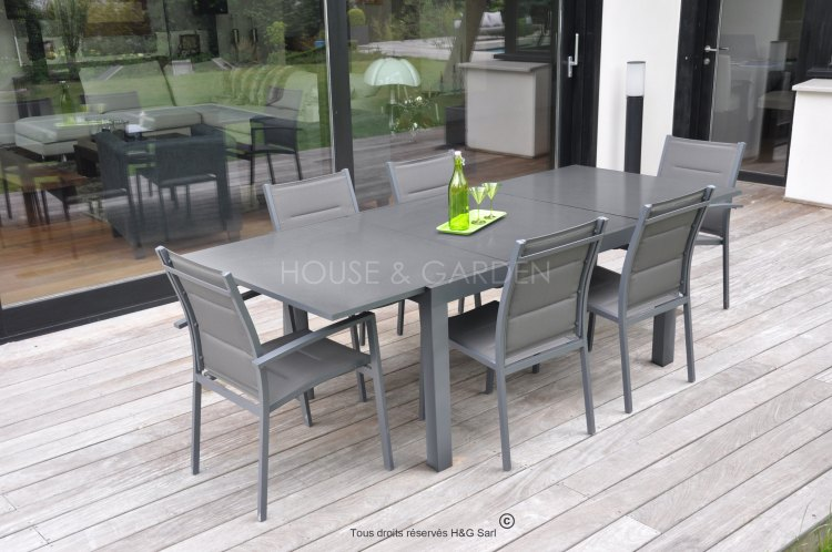 Emejing Table De Jardin Aluminium Discount Contemporary - Amazing ...