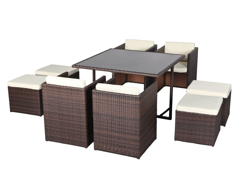 awesome table de jardin resine tressee encastrable gallery. Black Bedroom Furniture Sets. Home Design Ideas