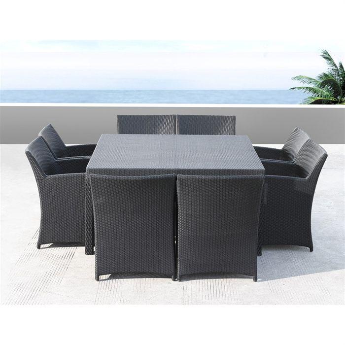 salon de jardin rotin. Black Bedroom Furniture Sets. Home Design Ideas