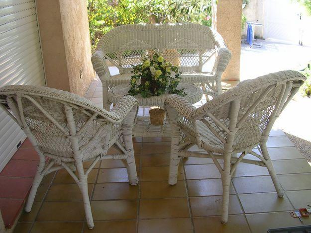 Stunning Salon De Jardin En Rotin Discount Photos - Amazing House ...