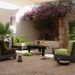 art et decoration salon de jardin