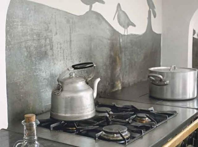 decoration cuisine zinc