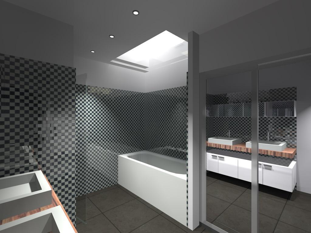 D co d 39 interieur salle de bain for Decoration interieur salle de bain