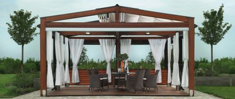 d co pergola bois. Black Bedroom Furniture Sets. Home Design Ideas