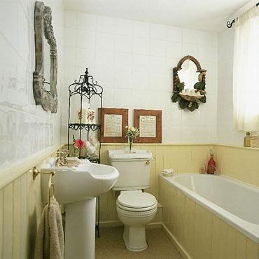 Photo déco pour une petite salle de bain - Photo Déco