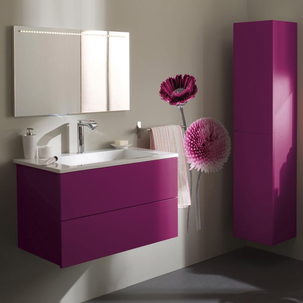 beautiful univers dco salle de bain aubergine with salle de bain couleur aubergine. Black Bedroom Furniture Sets. Home Design Ideas