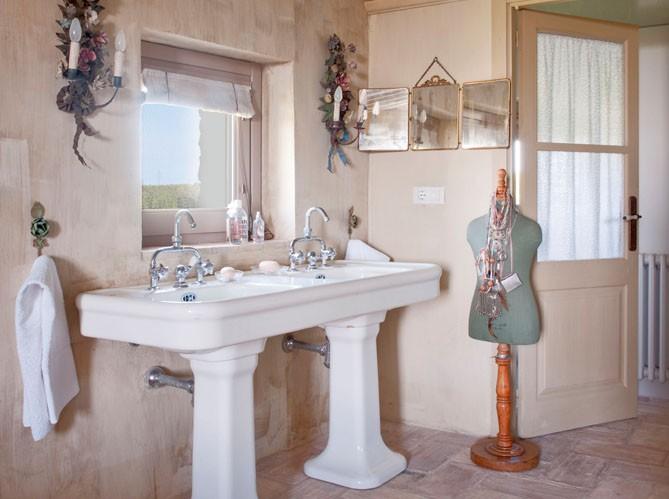organisation déco salle de bain campagne