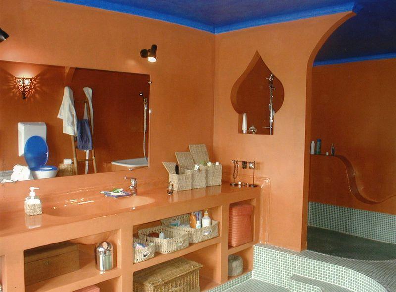 Decoration Maison Salle De Bain Marocain : Déco salle de bain marocaine