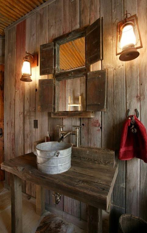 Restauration et décoration de cuisine et salle de bain rustiques  Home