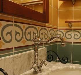Photo déco salle de bain style hammam