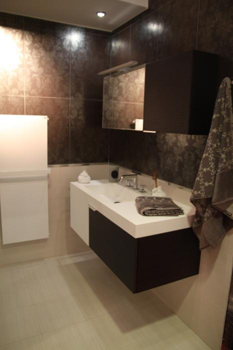 d co salle de bain taupe. Black Bedroom Furniture Sets. Home Design Ideas