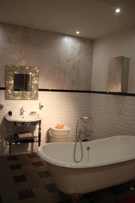 Awesome Salle De Bain Marron Taupe Contemporary - ansomone.us ...