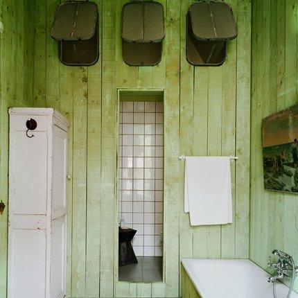 D co salle de bain vert pomme for Univers salle de bain