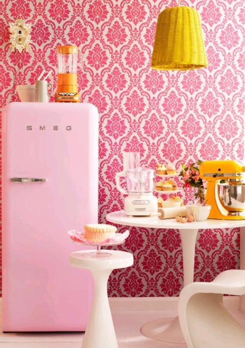 d coration cuisine ann e 50. Black Bedroom Furniture Sets. Home Design Ideas