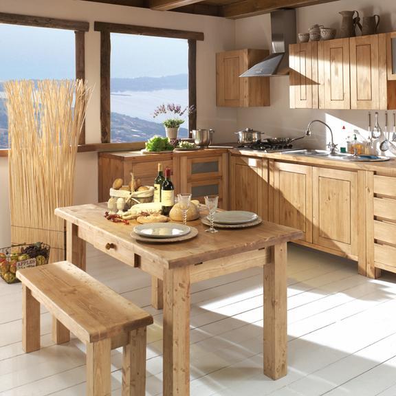 decoration cuisine bois naturel
