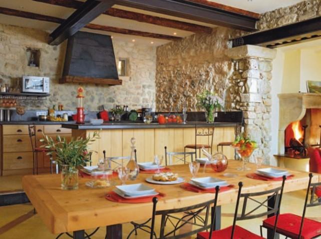 idée décoration cuisine campagnarde