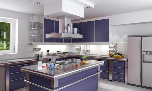 D coration cuisine contemporaine for Idee decoration cuisine contemporaine