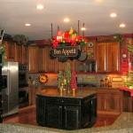 décoration cuisine noel